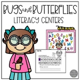 Looking for Letters Literacy Center: Bugs and Butterflies