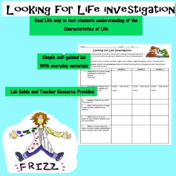 Looking for Life Investigation