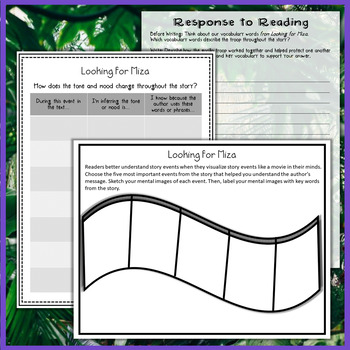 Looking for Miza Interactive Read Aloud Lesson and Extensions