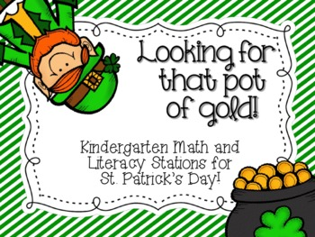 Looking for that Pot of Gold! {St. Patrick's Day Station Activities}
