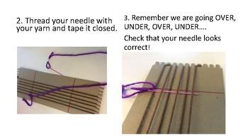 Loom Weaving Helpful Handouts