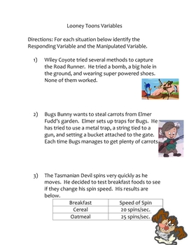 Looney Tunes Variables
