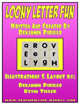 Loony Letter Fun Activity eBook