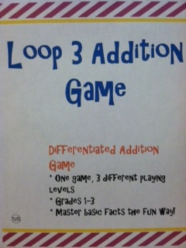 Loop 3 Addition Game: Master Basic Math Facts the Fun Way!
