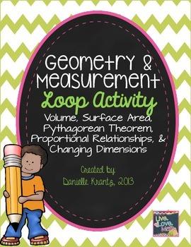 Measurement and Geometry Loop Activity