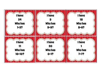 Loop Cards Addition and Subtraction Pack