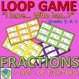 Loop Game - Addition and Subtraction of Fractions (Math Games) (Problem solving)