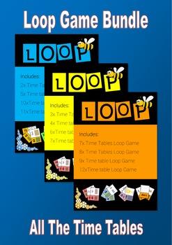 Loop Game Bundle - all Time Tables