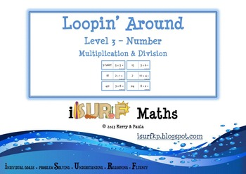 Loopin' Around: Level 3 - Multiplication and Division