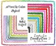 Loopty-Loo Doodly-Doo 2 Color Clip Art Frames Commercial Use
