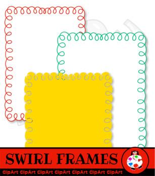 Loopy Border Clip Art
