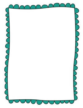 Loopy Doodle Frames MEGA PACK {Scalloped Borders} for Commercial Use