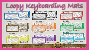 Loopy Keyboarding Mats