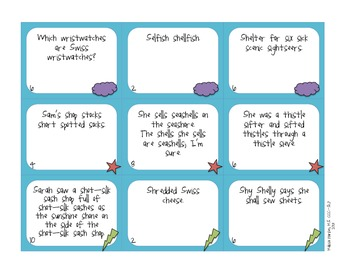 Loopy Lingo: A Tongue Twister Game for Articulation Carryover