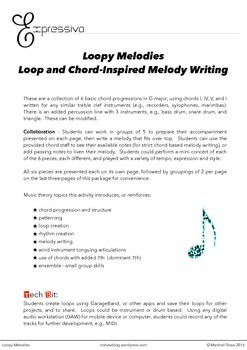 Loopy Melodies - Loop and Chord-Inspired Melody Writing