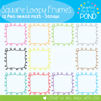 Frames - Loopy Squares