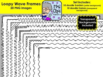Loopy Wave Frames