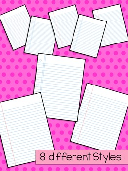Loose Leaf Paper Backgrounds