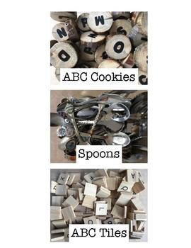 Loose Part Bin/Manipulative Bin Labels
