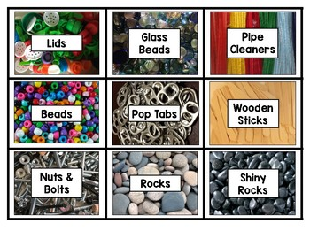 Loose Parts & Centre Labels