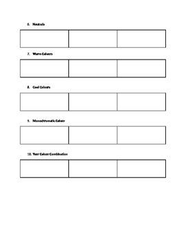 Loosen Up! Worksheets