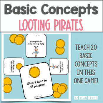 Basic Concepts For Speech Therapy Looting Pirates Game
