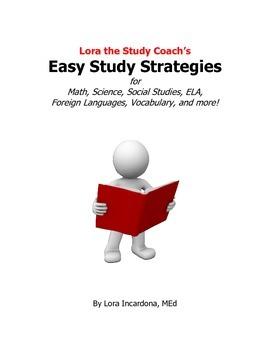 Lora the Study Coach's Easy Study Strategies