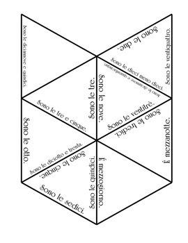 L'orario ufficiale e normale - Practice Puzzle and Flashcards