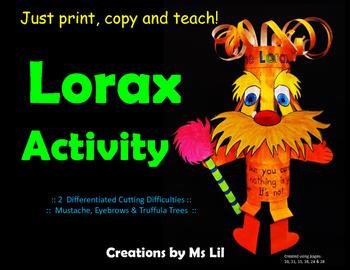 Lorax Craft  ::  Lorax Activity  ::  Earth Day Craft