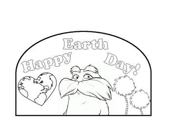Lorax Earth Day Hat