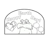 Lorax Earth Day Hat