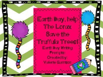Lorax Earth Day Writing Prompt {Freebie}