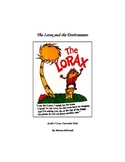 Lorax Unit Plan Lessons