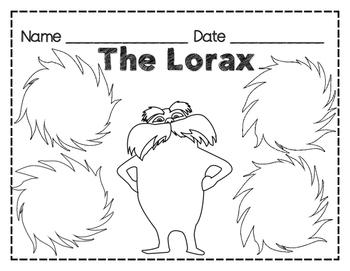 Lorax Web / Graphic Organizer