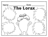Lorax Web / Graphic Organizer