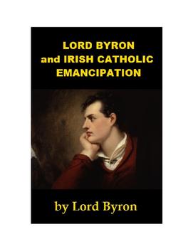 Lord Byron and Irish Catholic Emancipation