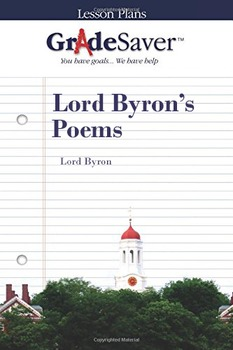 Lord Byron's Poems Lesson Plan