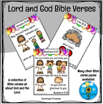 Lord & God Scripture Cards