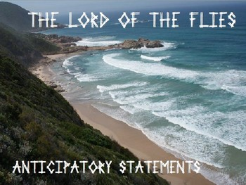 Lord of The Flies Anticipatory Activity