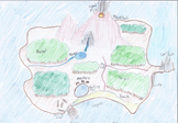 Lord of The Flies-Create a map of the island, activity