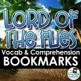 Lord of the Flies: Reading Questions, Vocabulary, Literary