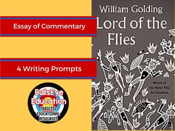 Lord of the Flies: In-Class Essay of Commentary
