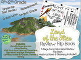 Lord of the Flies-Reviewing Characters, Plot, Conflicts-{Flip Book}