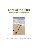 Lord of the Flies Three Printable Novel Projects
