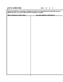 Lord of the Flies 3-Step Critical Thinking Activity