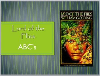 Lord of the Flies - ABCs of the Novel