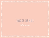 Lord of the Flies Active Reading Guide