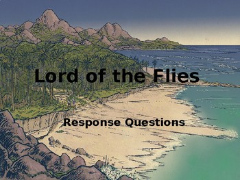 Lord of the Flies Active Student Response PowerPoint