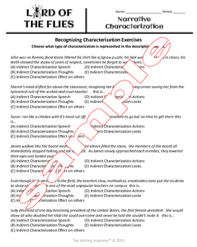 Lord of the Flies Unit Bundle Literary Analysis Activities