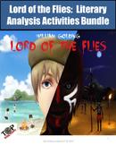 Lord of the Flies Novel Study Unit Bundle Literary Analysis